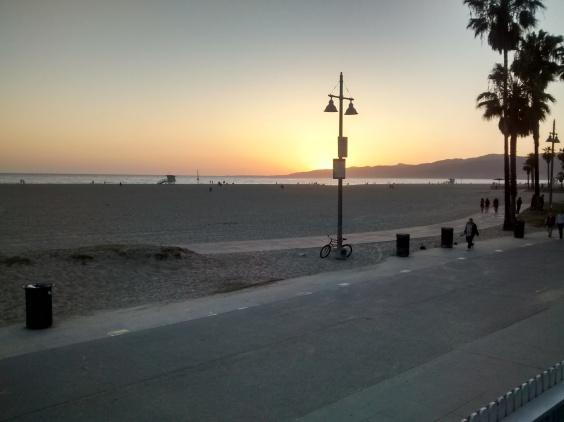 Atardecer en Venice Beach