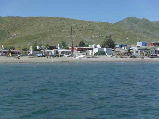 Puerto Magdalena, en Isla Magdalena, B.C.S.