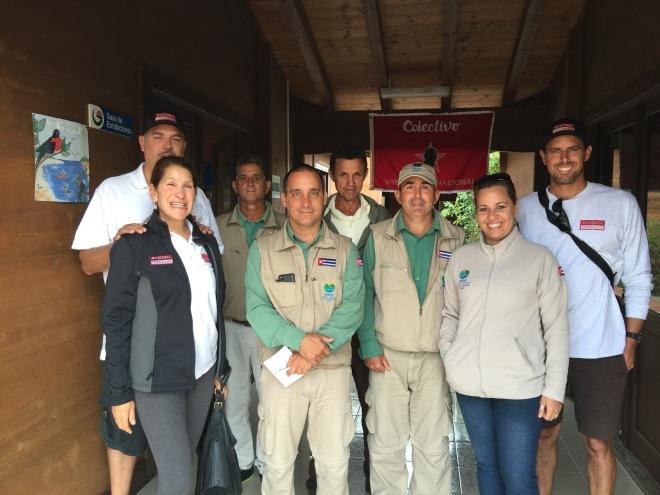 COSTASALVAJE y Personal de Guanahacabibes