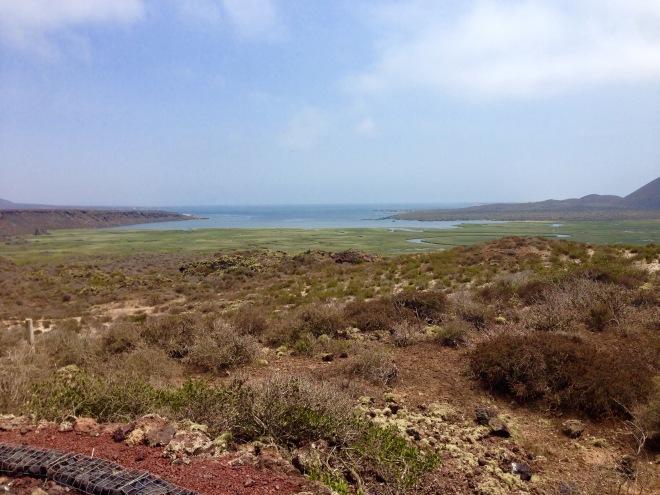 Sitio Ramsar, Bahías de San Quintín, Valle Volcánico, S.Q., Baja California.